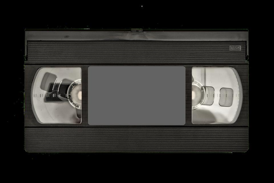 Come riparare il nastro di una VHS