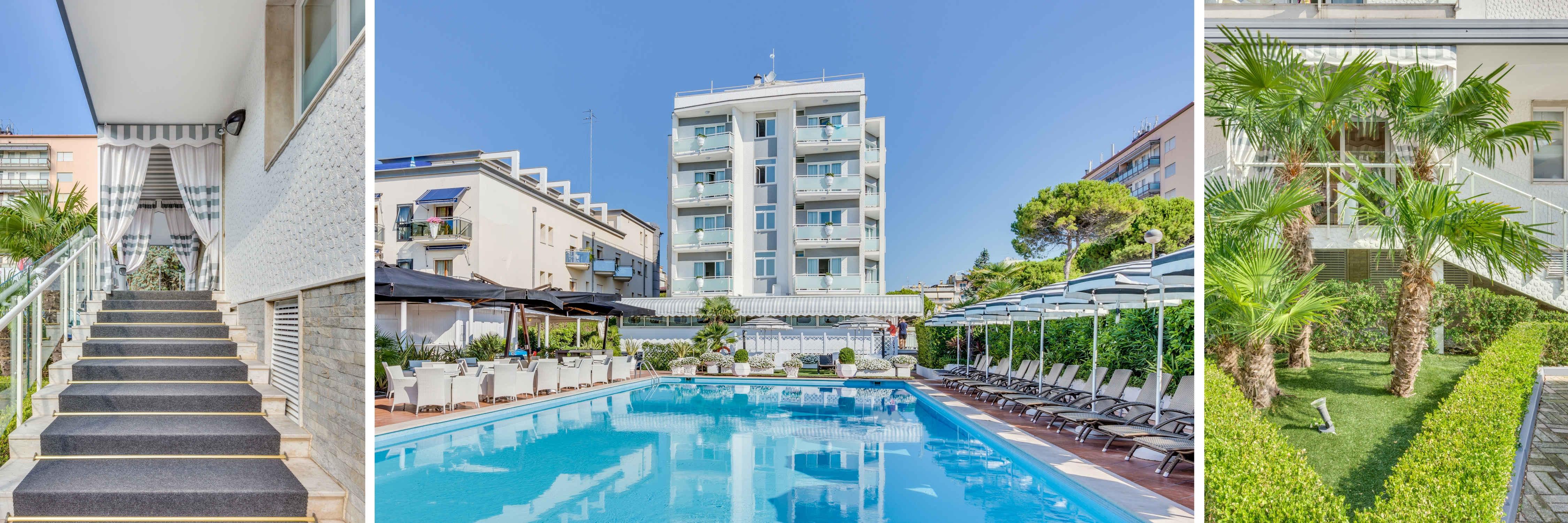 Hotel 3 stelle Jesolo Fronte Mare Delle Rose