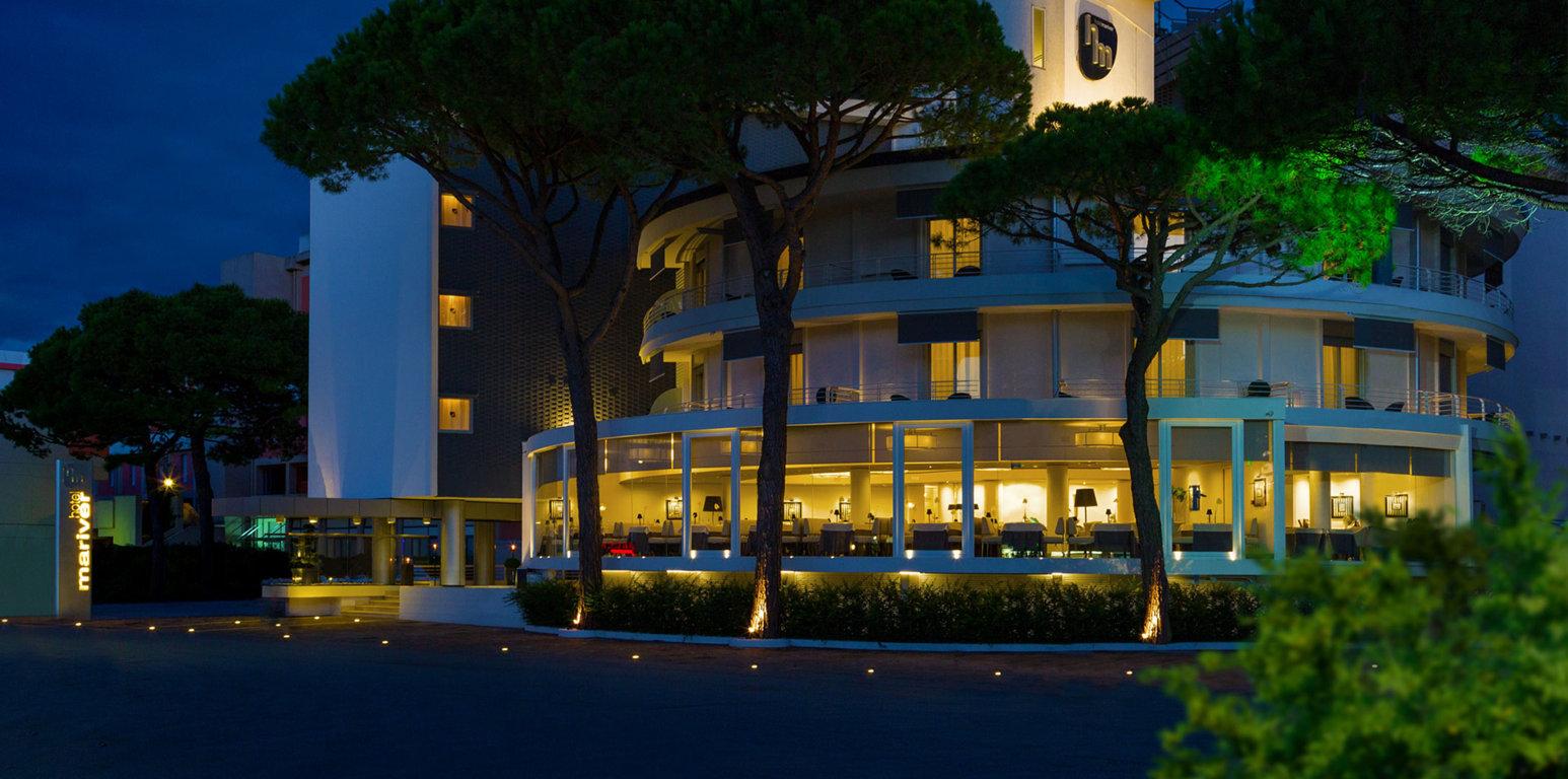 Hotel fronte mare 4 stelle Jesolo Mariver