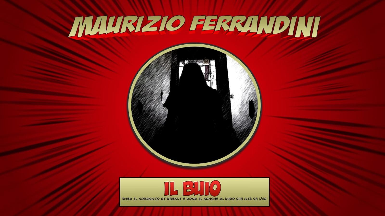 Maurizio-Ferrandini-IL-BUIO-cover